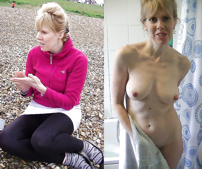 Ametuer nude before after hot porno